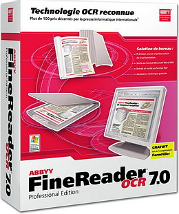 FineReader 7 Pro Upgrade OEM