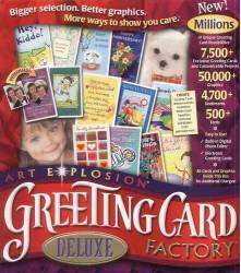 Dtp desk top publishing software bmsoftware art explosion 750000 mac art explosion greeting card factory m4hsunfo