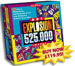 Art Explosion 525,000 MAC box