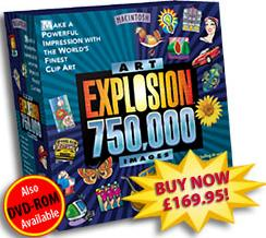 Art Explosion 750,000 MAC box