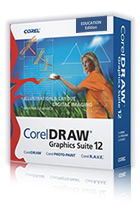 CorelDRAW Graphics Suite 12 box