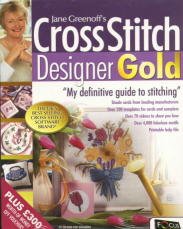Jane Greenoff's Cross Stitch Designer Gold box