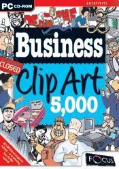 Business Clip Art 5000 box