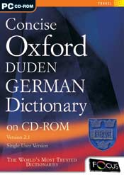 Concise Oxford Duden German Dictionary box