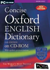 Concise Oxford English Dictionary 11th Edition box