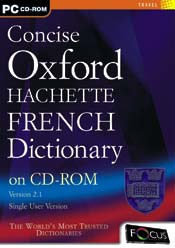 Concise Oxford Hachette French Dictionary box