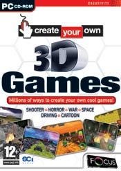 Create Your Own 3D Games box