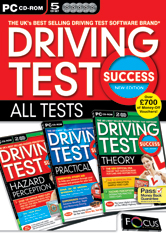 Driving Test Success ALL TESTS New Edition box