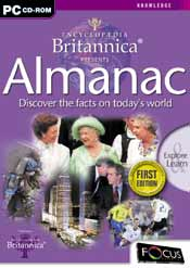 Encyclopedia Britannica Presents Almanac box