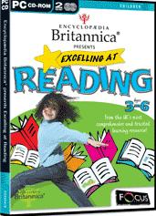 Encyclopedia Britannica Presents Excelling at Reading box