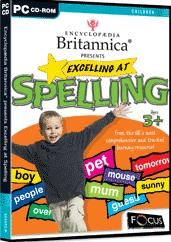 Encyclopedia Britannica Presents Excelling at Spelling box