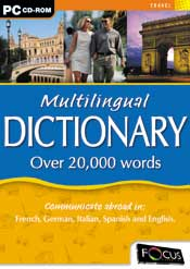 Multilingual Dictionary box