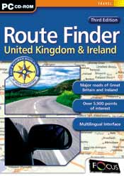 Route Finder United Kingdom & Ireland - Third Edition box