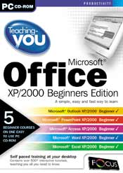 Teaching-you Microsoft Office XP/2000-Beginners Edition box