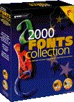 2,000 Font Collection