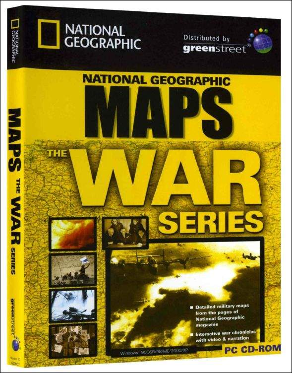 War Maps box