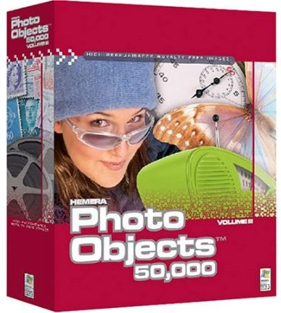 Hemera Photo Objects 50,000 Volume 3 box