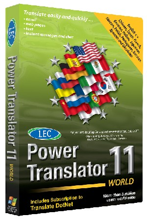 LEC Power Translator 11 World box