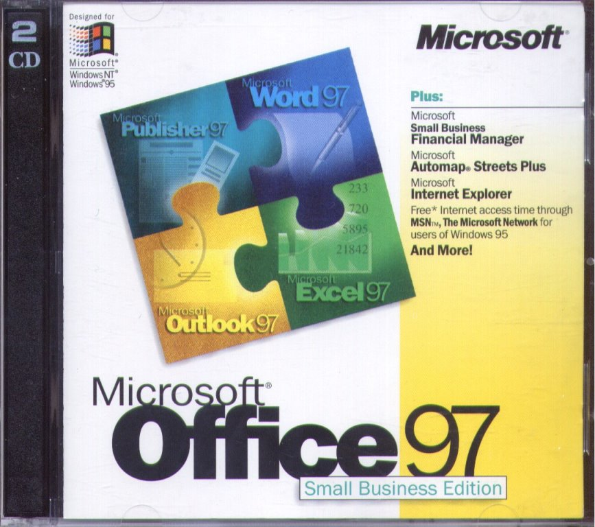 Office 97 Small Business Edition box
