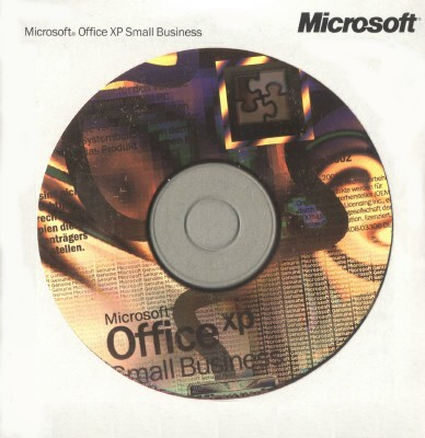 Office XP Small Business Edition OEM box