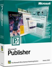 Microsoft Publisher 2002 box