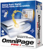 OmniPage Pro X box