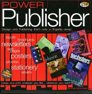 Power Publisher box