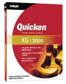 Quicken XG 2004 Deluxe box