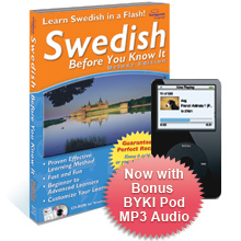 Swedish Before You Know It Deluxe 3.6 box